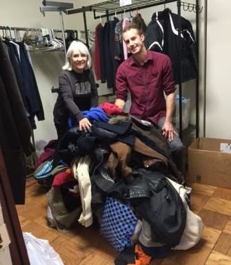 BFM collect coats refugees